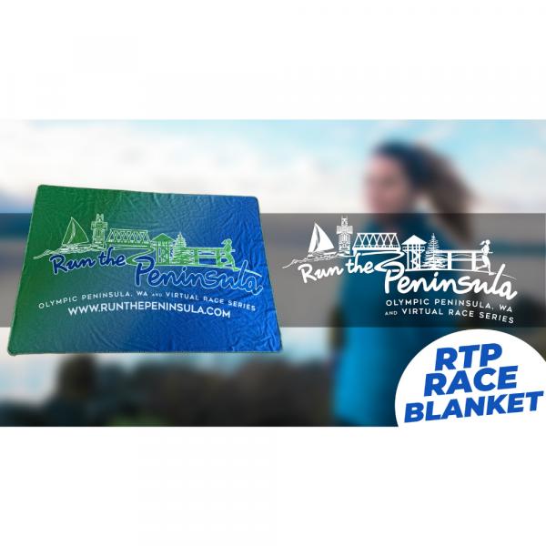 Run the Peninsula Fleece Blanket